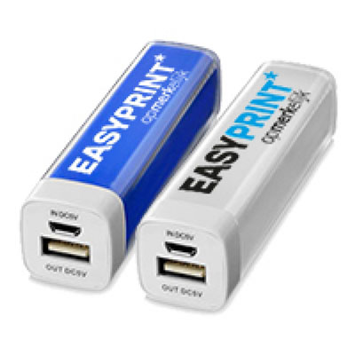 Powerbank met EasyPrint logo